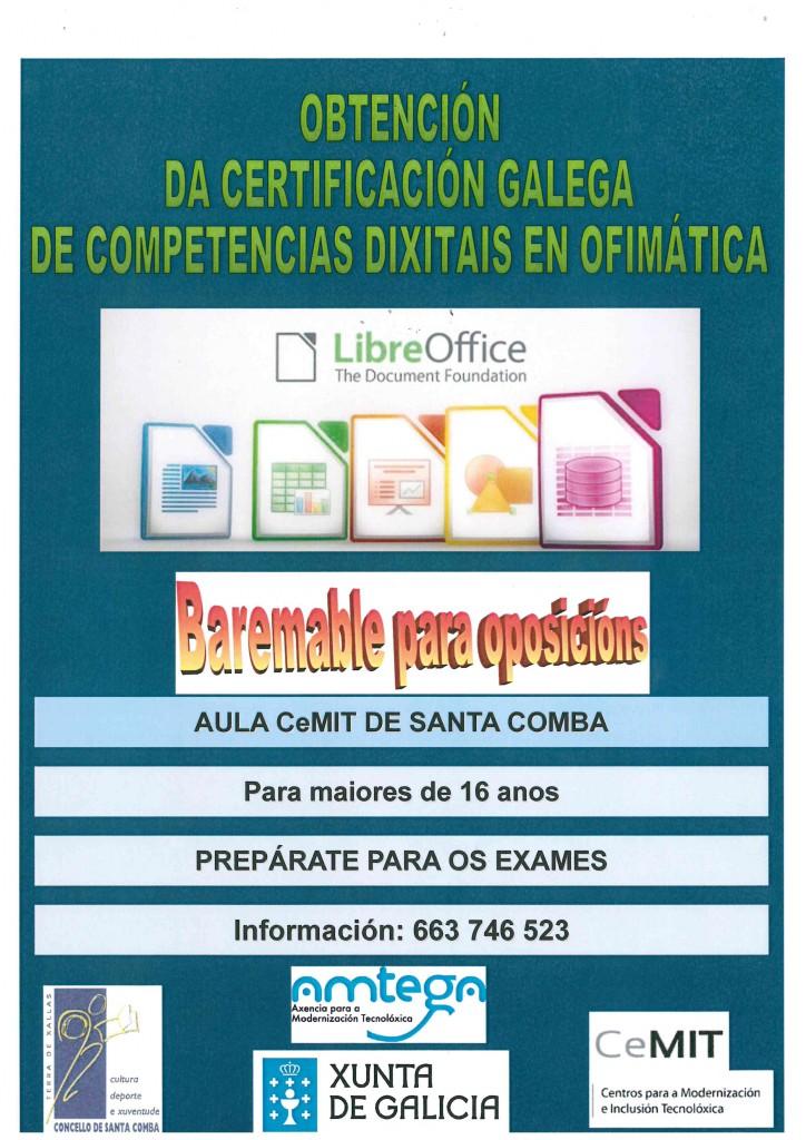 (2015 - 08 - 12) CEMIT - OBTENCION DA CERTIFICACIÓN GALEGA DE COMPETENCIAS DIXITAIS
