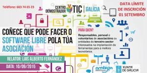 (2015 - 08 - 25) Programa software libre asociacion