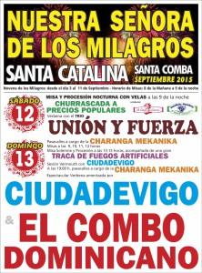 CARTEL NUESTRA SEÑORA DE LOS MILAGROS (2015)