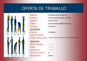 (2015 - 09 - 14) OFERTA DE TRABALLO