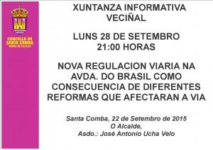 (2015 - 09 - 22) XUNTANZA INFORMATIVA AVDA BRASIL