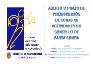 (2015 - 09 - 23) PREINSCRICION ACTIVIDADES