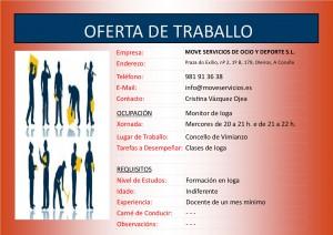 (2015 - 09 - 28) OFERTA DE TRABALLO IOGA