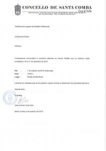 (2015 - 10 - 06) ALC.- Convcocatoria Montouto