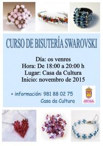 (2015 - 10 - 23) cartel  CURSO DE SWAROVSKI