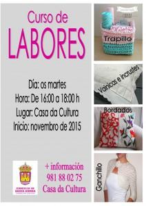 (2015 - 10 - 23) cartel curso labores