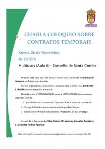 (2015 - 11 - 23) CHARLA CONTRATO TEMPORAIS