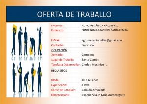(2015 - 12 - 04) OFERTA DE TRABALLO chofer