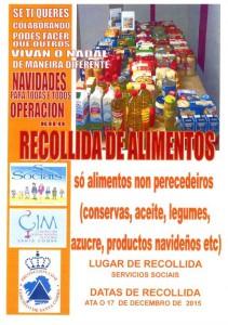 (2015 - 12 - 11) RECOLLIDA DE ALIMENTOS