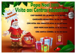 (2015 - 12 - 15) CARTEL PAPA NOEL 2015