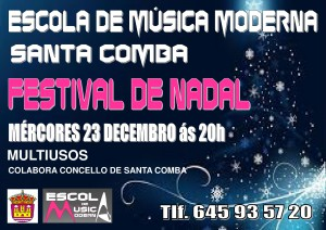 (2015 - 12 - 18) CARTEL NADAL 2015 MUSICA MODERNA