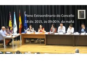 (2015 - 12 - 18) Pleno Ordinario do Concello
