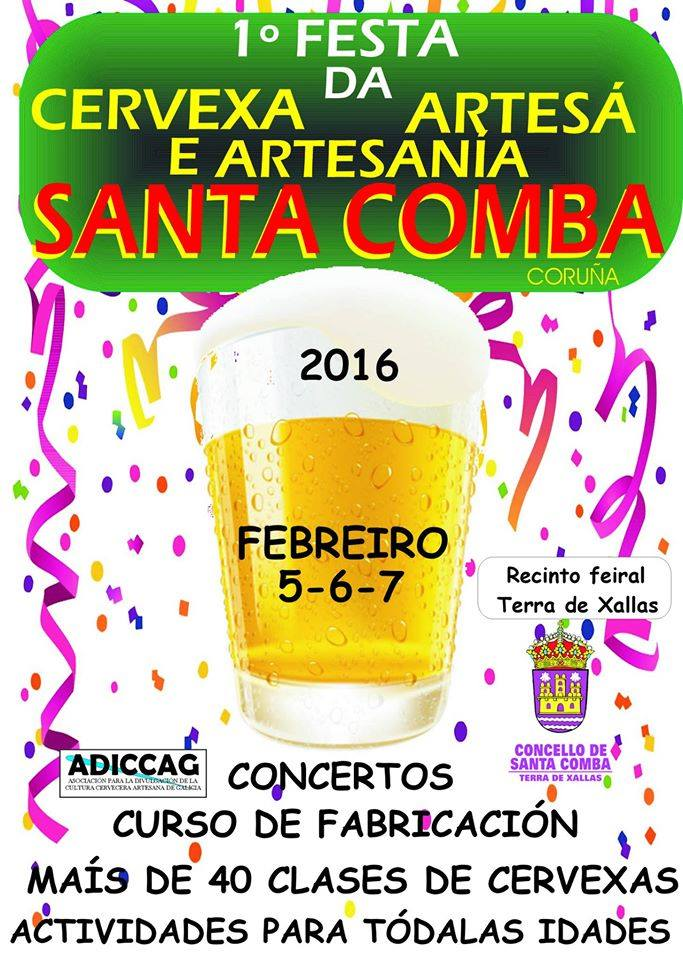 (2016 - 01 - 18) 1ª FESTA DA CERVEZA