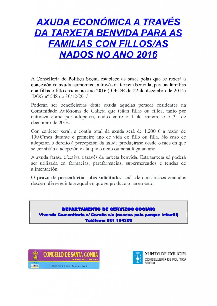 (2016 - 02 - 01) TARXETA_BENVIDA_2016