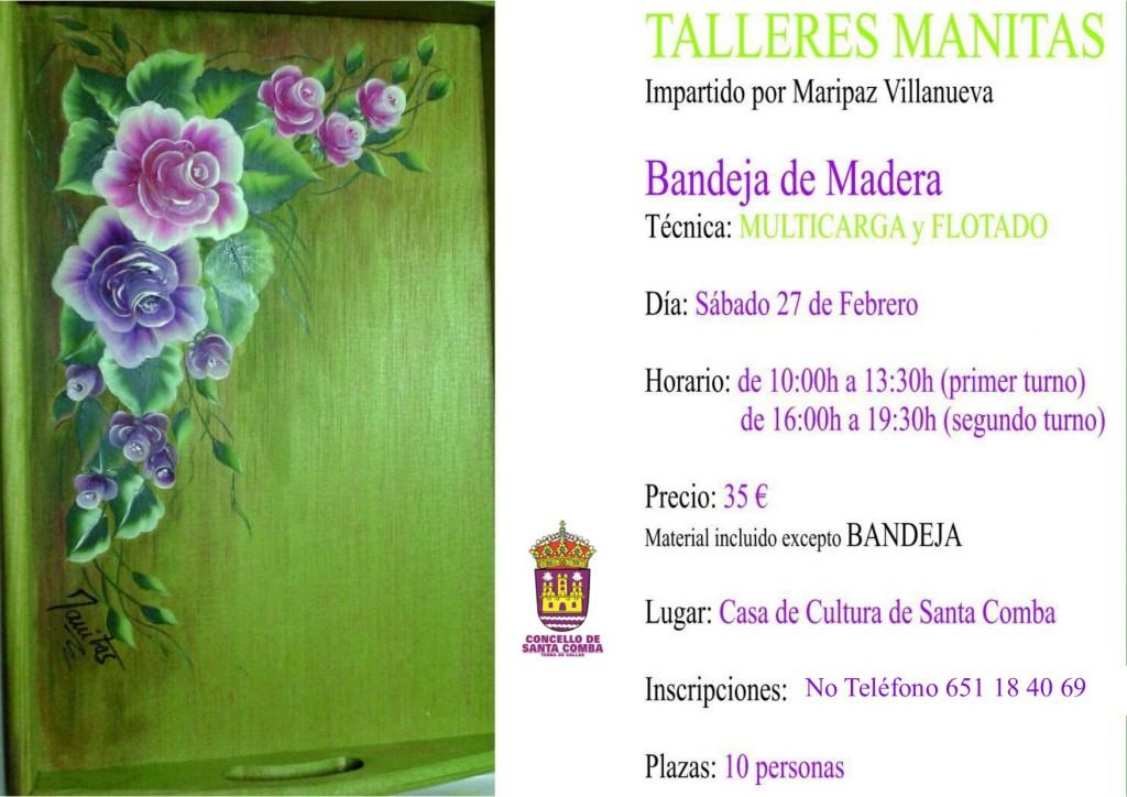 (2016 - 02 - 09) cartel talleres manitas