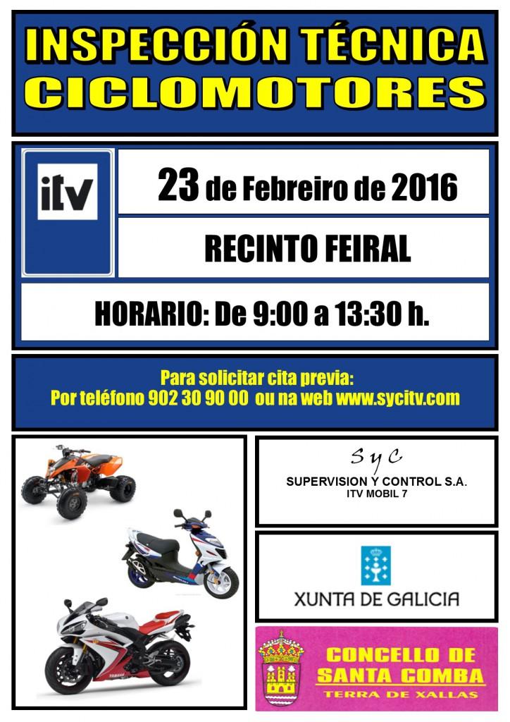 (2016 - 02 - 23) ITV ciclomotores