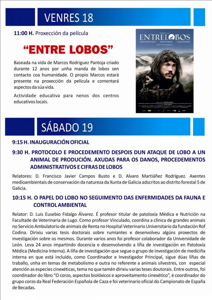 (2016 - 03 - 18-19) XORNADAS NACIONAIS DO LOBO 2-4