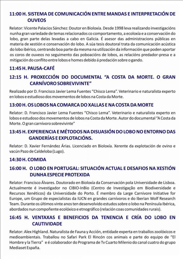(2016 - 03 - 18-19) XORNADAS NACIONAIS DO LOBO 3-4