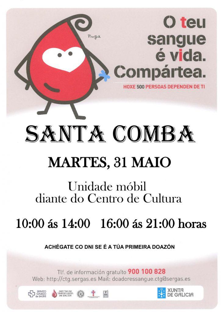 (2016 - 05- 25) DOAZON DE SANGUE SANTA COMBA A3.page1