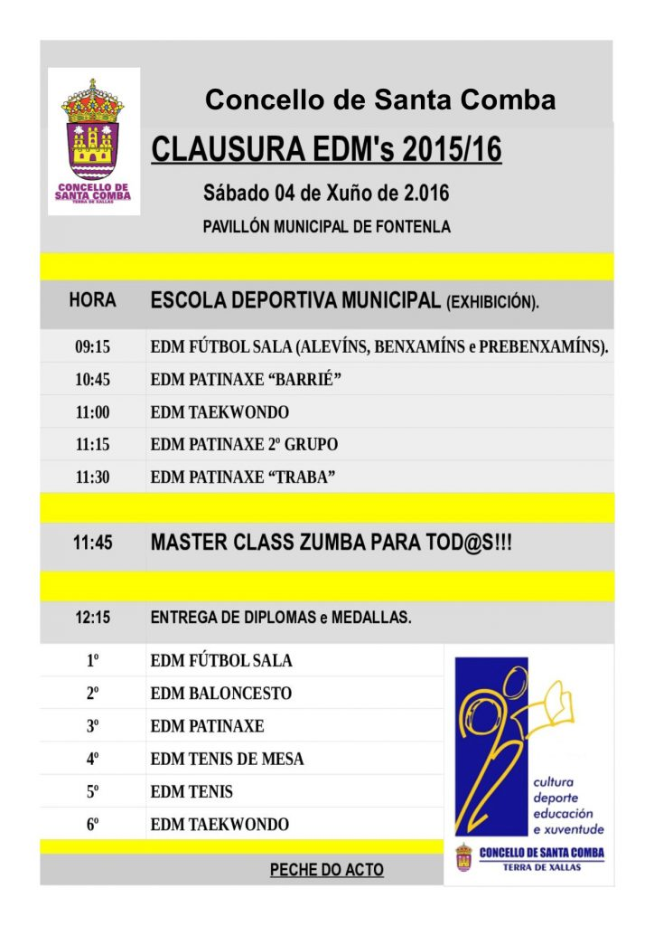 (2016 - 05 - 31) CLAUSURA EDMs