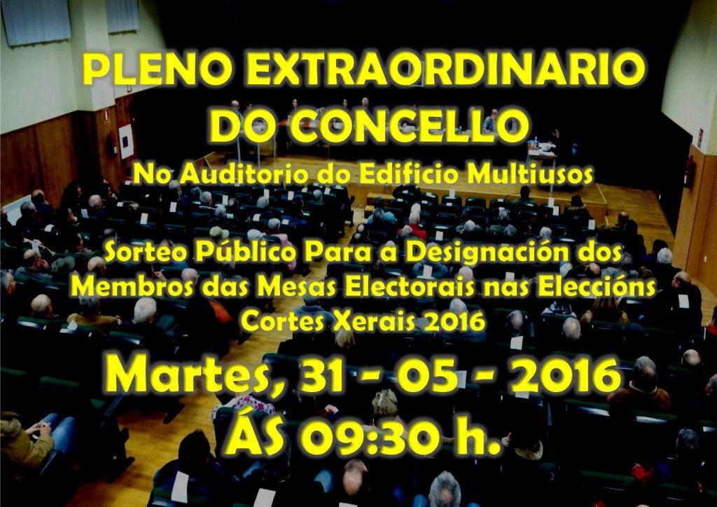 (2016 - 05 - 31)) PLENO EXTRAORDINARIO
