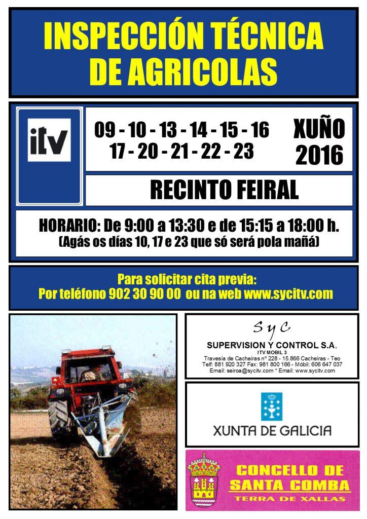 (2016 - 06) ITV vehiculos agricolas