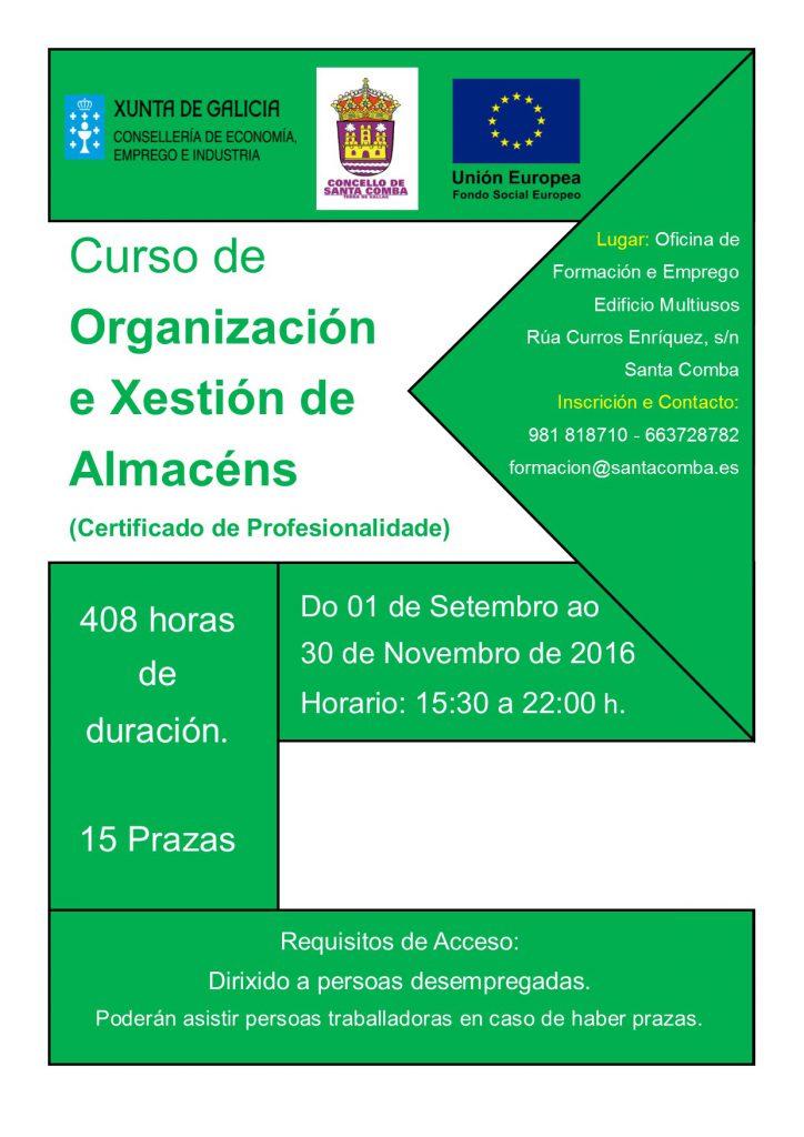 (2016 - 06 - 28) ORGANIZACIÓN E XESTION DE ALMACENS
