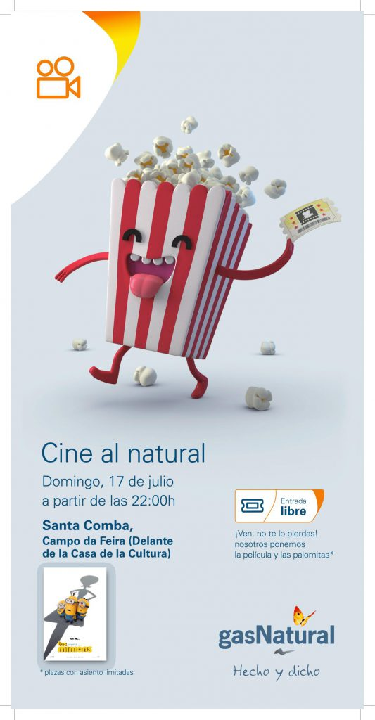 (2016 - 07 - 01) CARTEL GN Cine al natural_SantaComba.page1