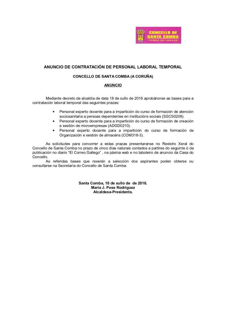 (2016 - 07 - 19) personal temporal contratación