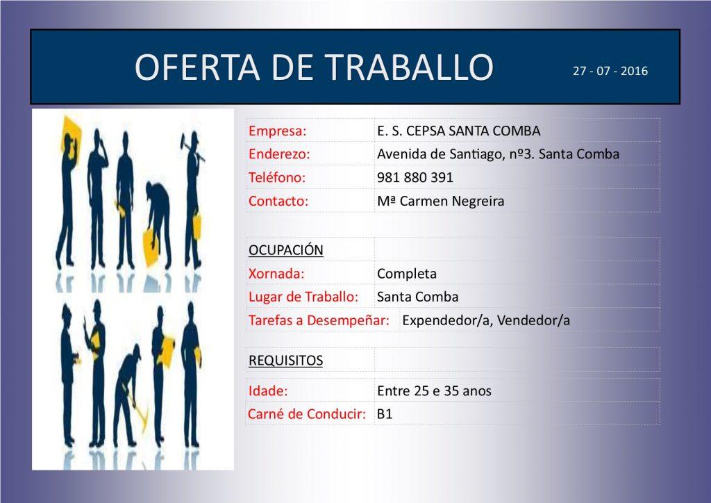 (2016 - 07 - 27) OFERTA DE TRABALLO - CEPSA