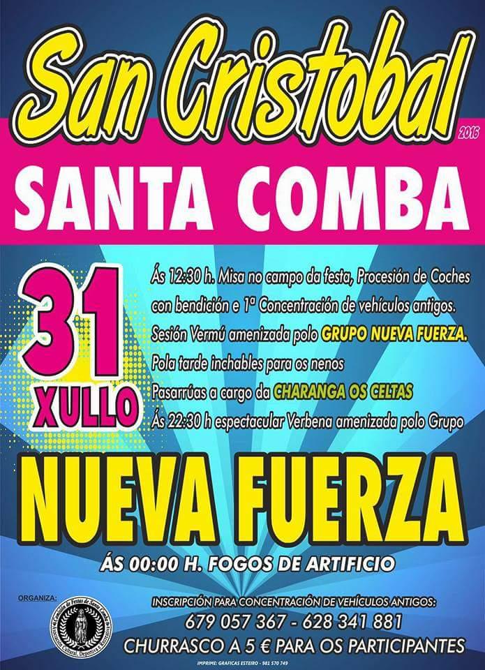 (2016 - 07 - 30) san cristobal santa comba