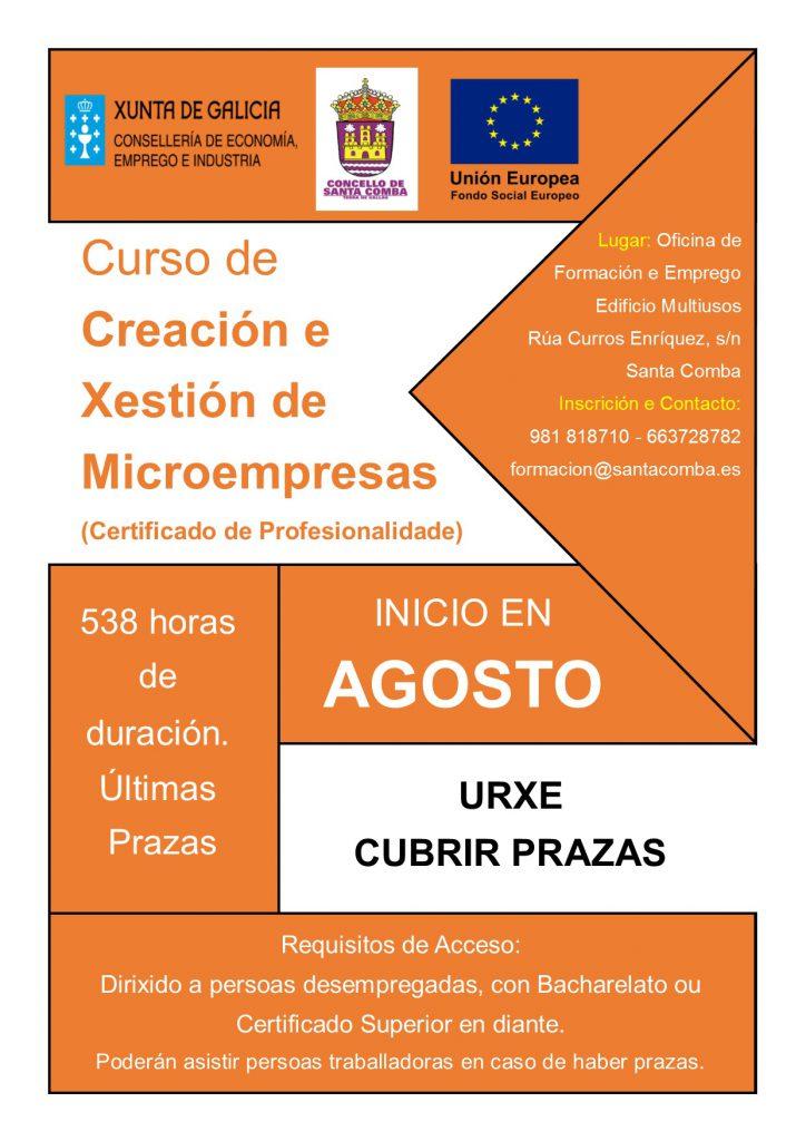 (2016 - 05 - 09) curso creacion e xestion de microempresas