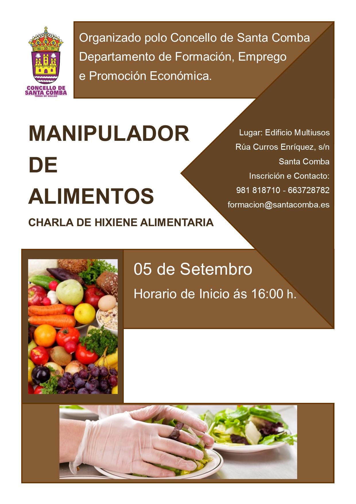 Manipulador de alimentos charla de hixiene alimentaria - Www manipulador de alimentos es ...